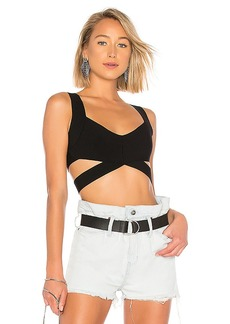 T by Alexander Wang Strappy Bralette Top