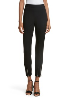 T by Alexander Wang Stretch Cotton Skinny Pants