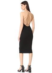 T by Alexander Wang Stretch Jersey Razor Front Dress