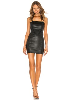 T by Alexander Wang Stretch Leather Cami Dress