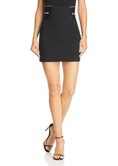 T by Alexander Wang Stretch Suiting Mini Skirt