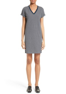 T by Alexander Wang Stripe T-Shirt Dress