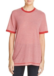 T by Alexander Wang Striped Ringer Tee
