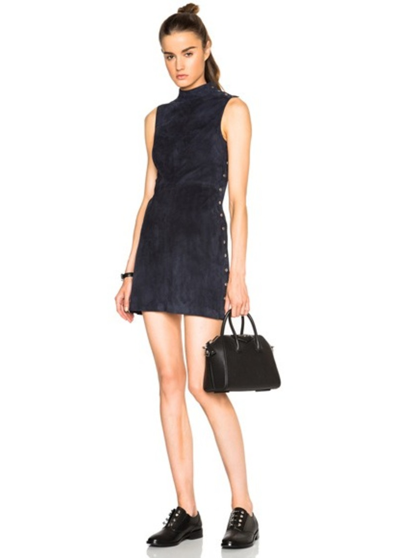 T by Alexander Wang Suede Dress