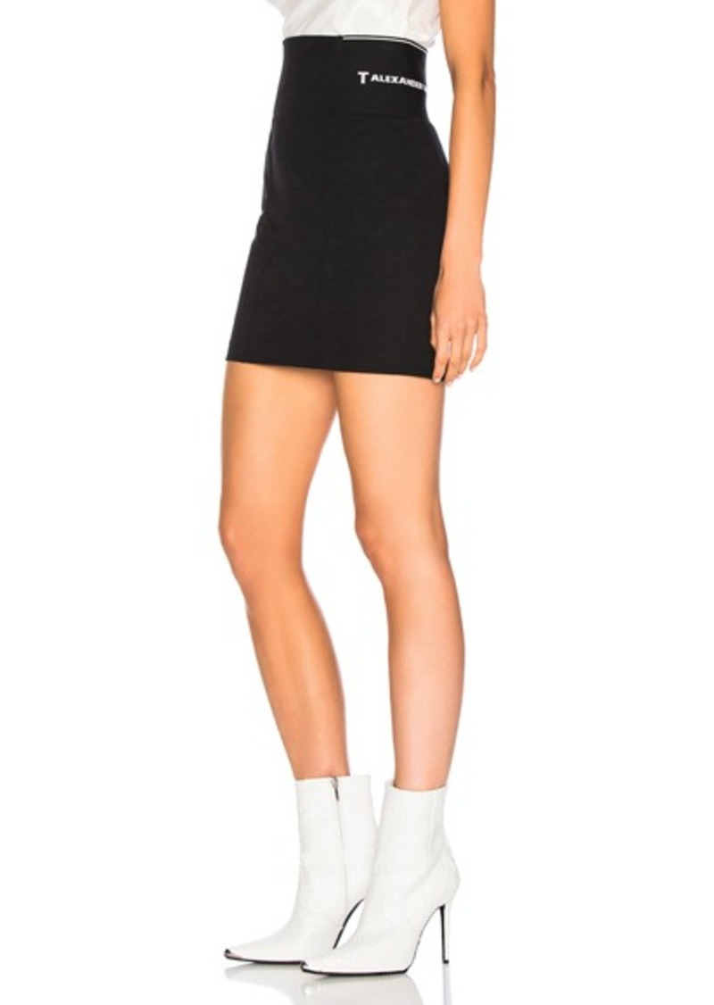 T by Alexander Wang Suiting Skirt