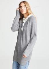 T by Alexander Wang alexanderwang.t Sweater Tunic with Inner Hoodie
