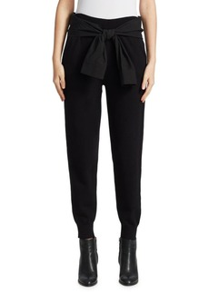 T by Alexander Wang Tie-Waist Joggers