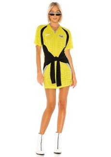T by Alexander Wang Tricot Front Tie Dress