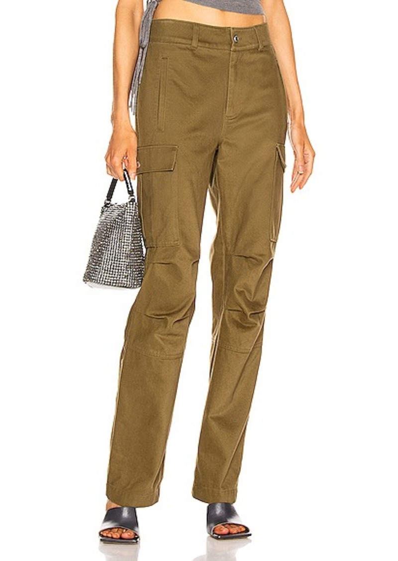 T by Alexander Wang Twill Cargo Pant