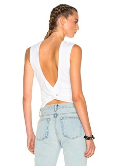 T by Alexander Wang Twist Back Tee
