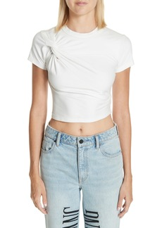 T by Alexander Wang Twist Compact Jersey Tee