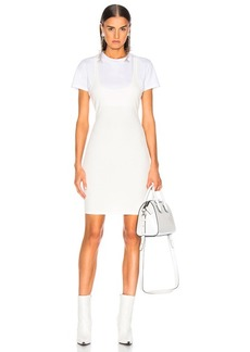 T by Alexander Wang Variegated Compact Dress