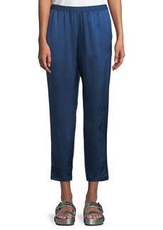 T by Alexander Wang Wash & Go Elasticized Cropped Pants