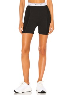 T by Alexander Wang Wash & Go Rib Biker Shorts