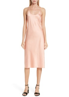 T by Alexander Wang Wash & Go Satin Slipdress