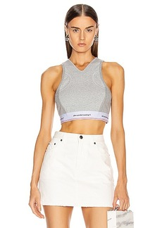 T by Alexander Wang Wash and Go Compact Rib Top