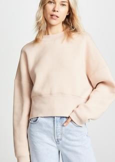 T by Alexander Wang Wide Neck Sweatshirt