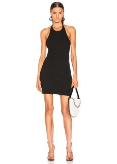 T by Alexander Wang Wide Rib Halter Dress