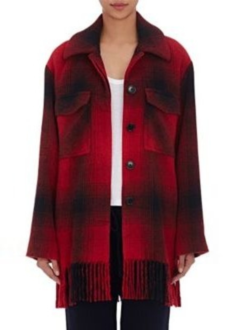 T by Alexander Wang Women's Blanket-Inspired Shirt Jacket
