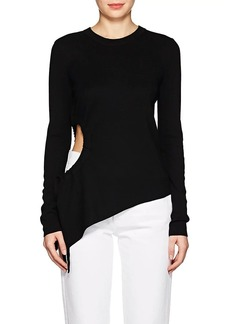 T by Alexander Wang Women's Cutout Wool Sweater