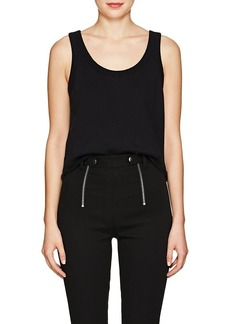 T by Alexander Wang alexanderwang.t Women's Distressed Cotton Terry Tank