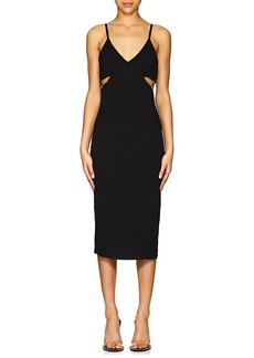 T by Alexander Wang Women's Jersey Cutout Fitted Dress