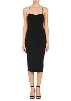 T by Alexander Wang Women's Jersey Fitted Midi-Dress