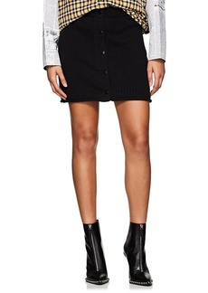 T by Alexander Wang Women's Knit Cotton Miniskirt