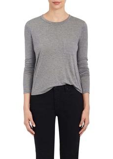 T by Alexander Wang Women's Long-Sleeve Crewneck T-Shirt