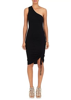 T by Alexander Wang Women's One-Shoulder Wool Dress