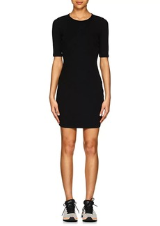 T by Alexander Wang Women's Rib-Knit Cutout Fitted Dress