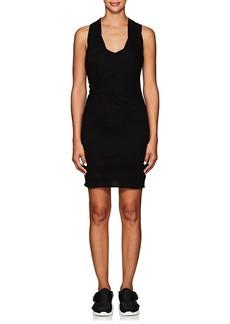 T by Alexander Wang alexanderwang.t Women's Twist-Side Cotton Fitted Tank Dress