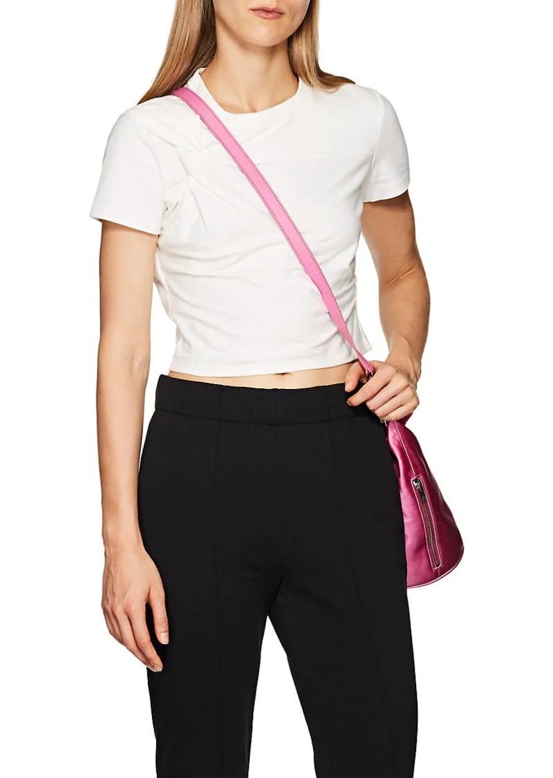 T by Alexander Wang Women's Twisted Cotton Crop T-Shirt