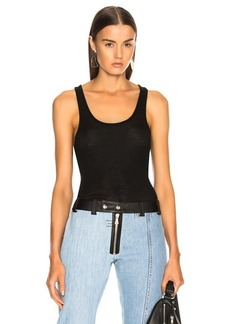 T by Alexander Wang Wooly Rib Tank Top