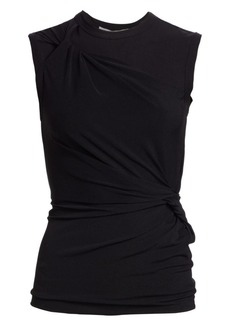 T by Alexander Wang Twisted Crepe Jersey Top