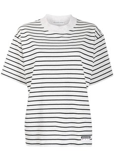 T by Alexander Wang two tone striped T-shirt