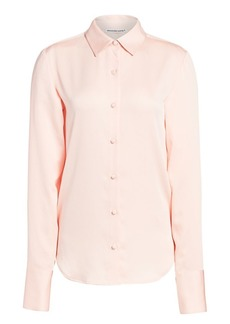 T by Alexander Wang Wash & Go Button-Up Blouse