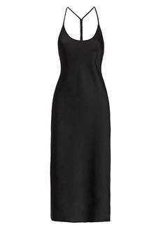 T by Alexander Wang Wash & Go Midi Slip Dress
