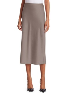 T by Alexander Wang Wash & Go Woven Midi Skirt