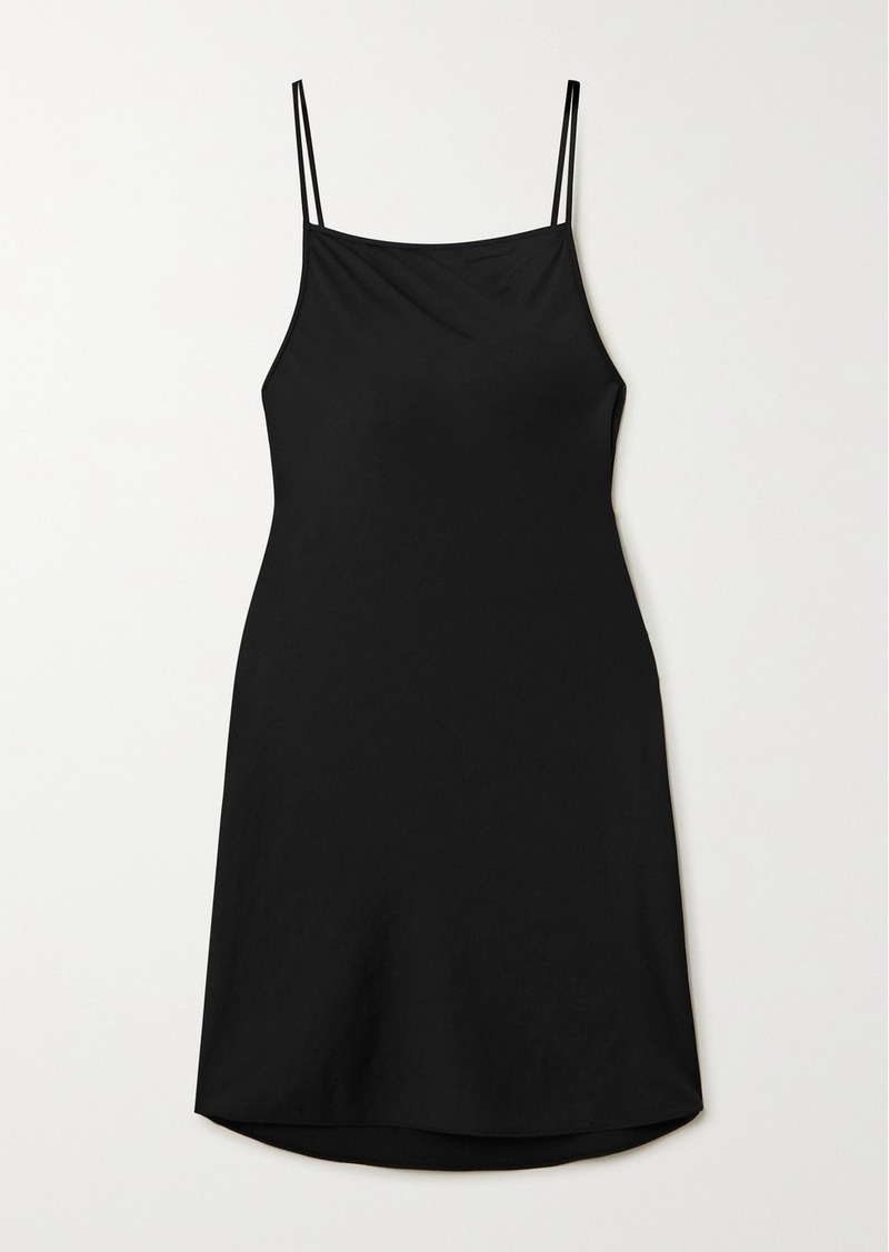 T by Alexander Wang Wash And Go Charmeuse Mini Dress