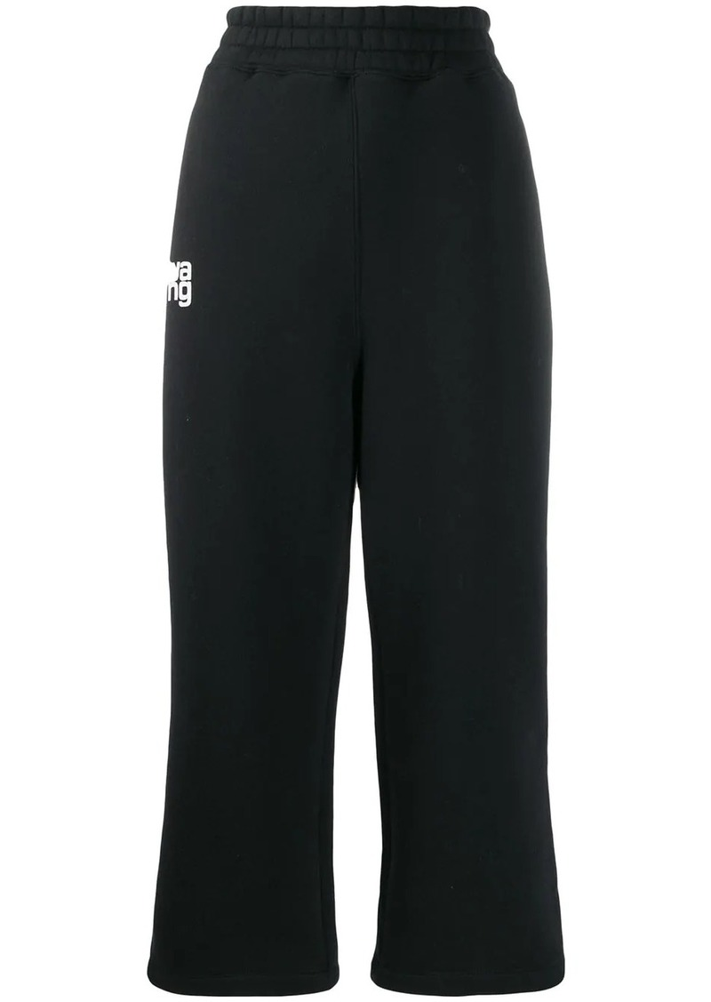 T by Alexander Wang wide-leg cropped trousers