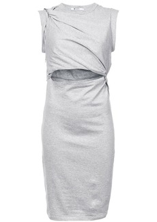 T by Alexander Wang wrap-around jersey dress