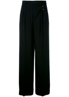T by Alexander Wang wrap-effect palazzo pants