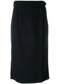 T by Alexander Wang wrap pencil skirt