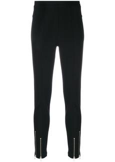 T by Alexander Wang zip detailed skinny trousers