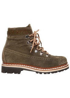 Tabitha Simmons 30mm Bexley Embossed Suede Hiking Boots