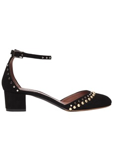Tabitha Simmons 40mm Anais Studs Suede Pumps