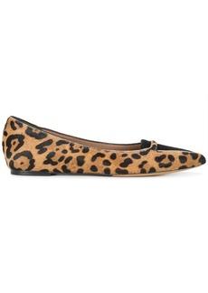 Tabitha Simmons Alexa leopard print ballerina shoes