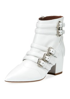Tabitha Simmons Christy Leather Buckle 50mm Booties