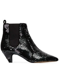 Tabitha Simmons Effie 50 sequin ankle boots